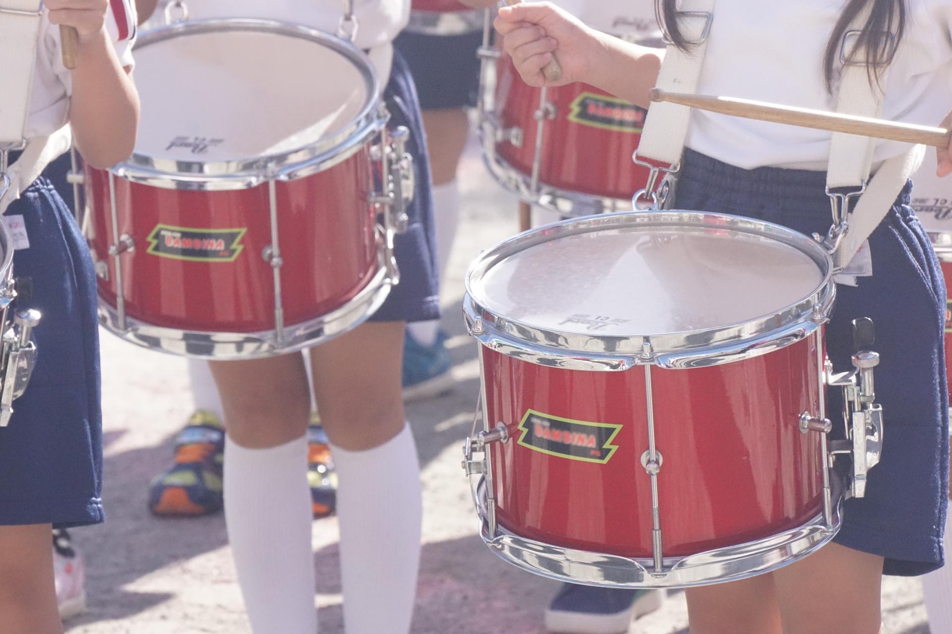 子供時代の鼓笛隊